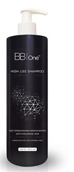 HIGH LISS SHAMPOO, BB ONE, 500 мл